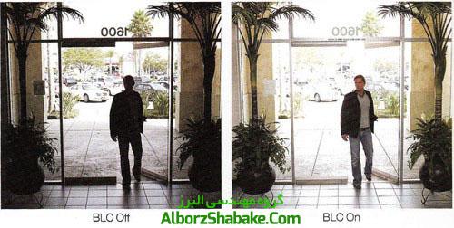 ضد نور در سیستم دوربین های مداربسته BLC